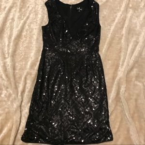 Lulu's sequined cocktail dress